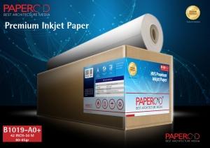 kertas plotter PAPERCAD Premium Inkjet Paper 80-85gr 42″ x 50m (A0+)