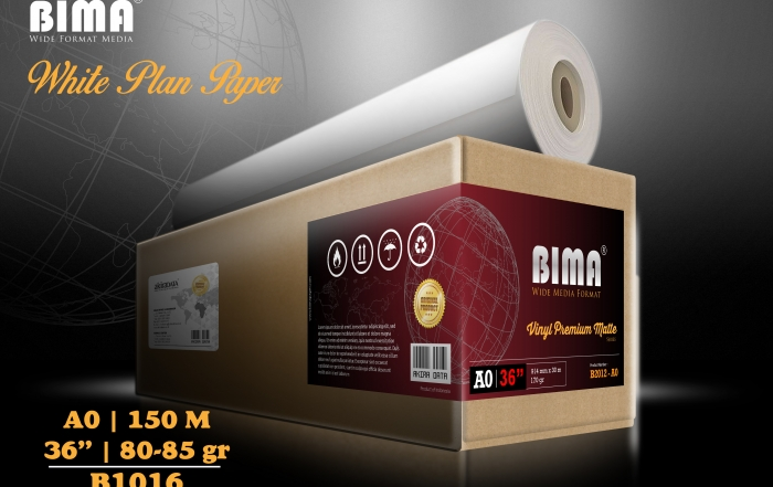 """Kertas plotter BIMA White Plan Paper 80-85gr 36"""""""