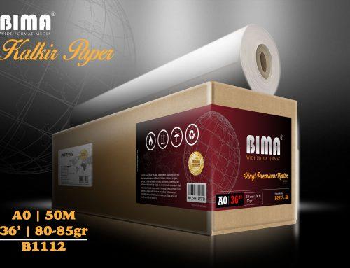 BIMA Tracing Paper 80-85gr 36″ x 50m (A0)